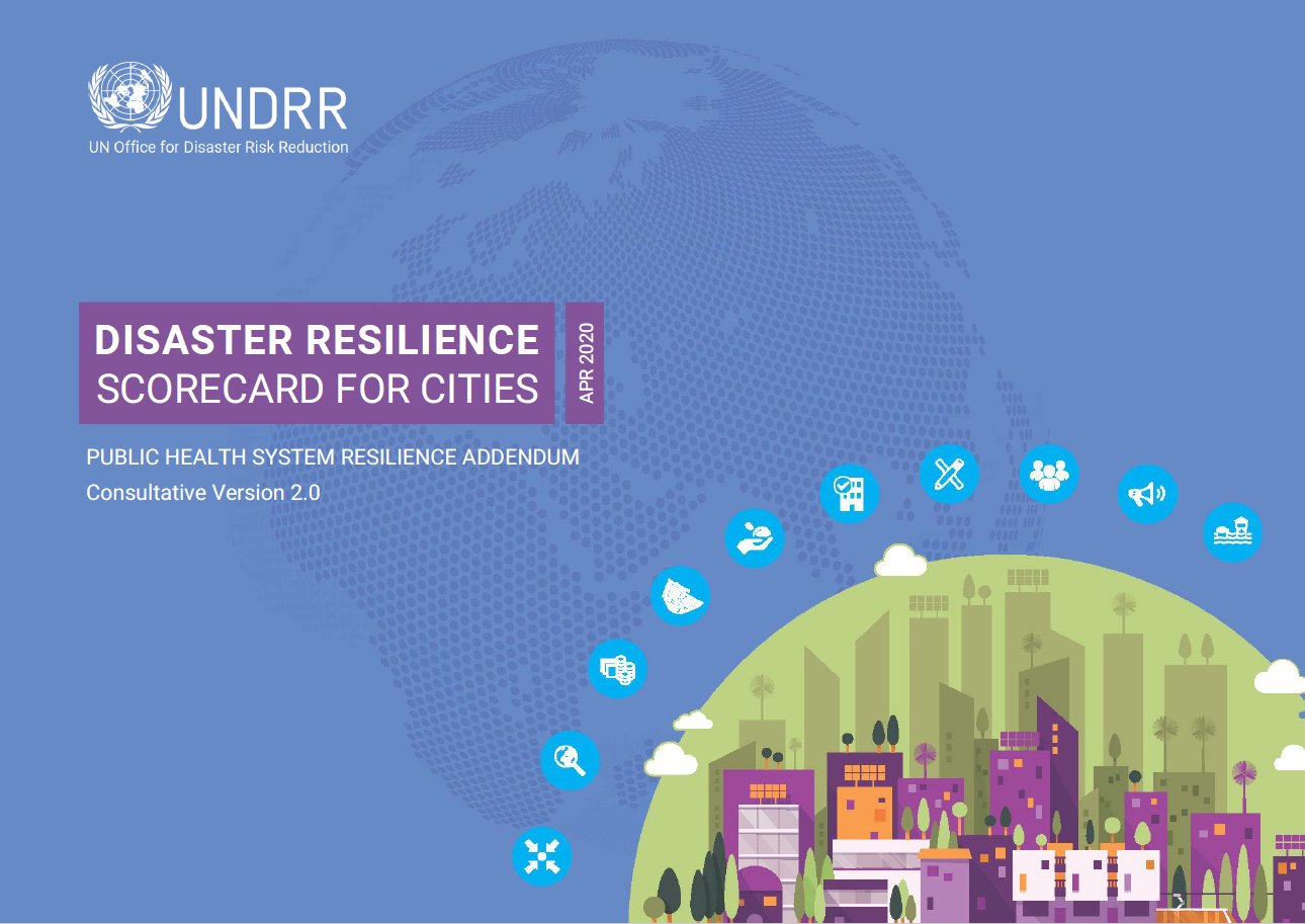 Public Health System Resilience Scorecard cover