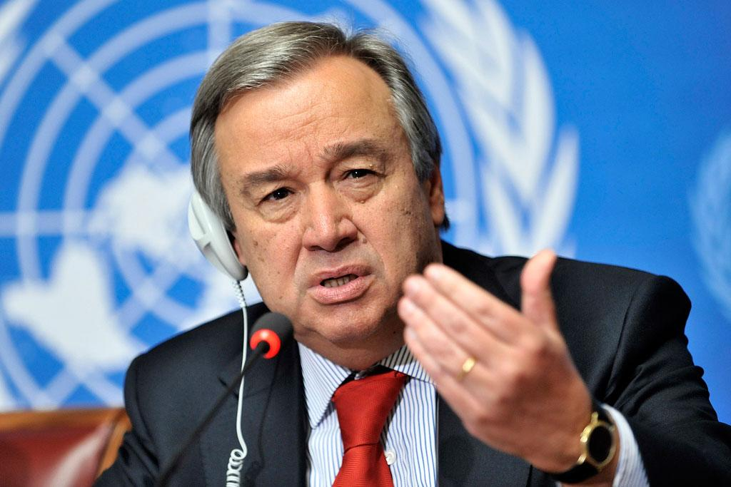 UN Secretary-General António Guterres issues statement to mark International Day for Disaster Risk Reduction