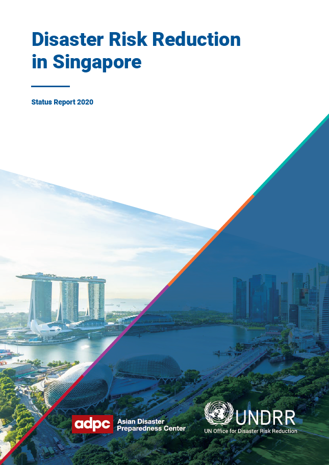 cover of Disaster Risk Reduction in Singapore Status Report 2020