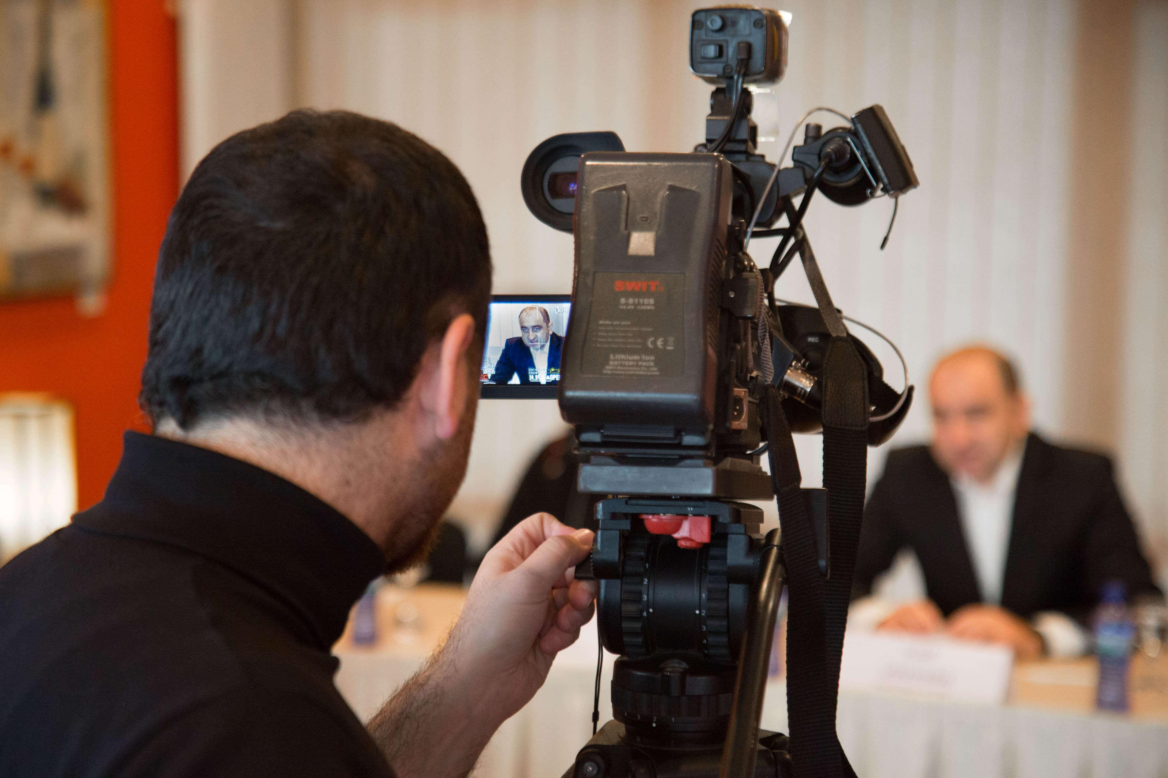 Workshop on the Resilient Cities Project in Central Asia and South Caucasus, Tbilisi, Georgia, 11 November 2015 Filming