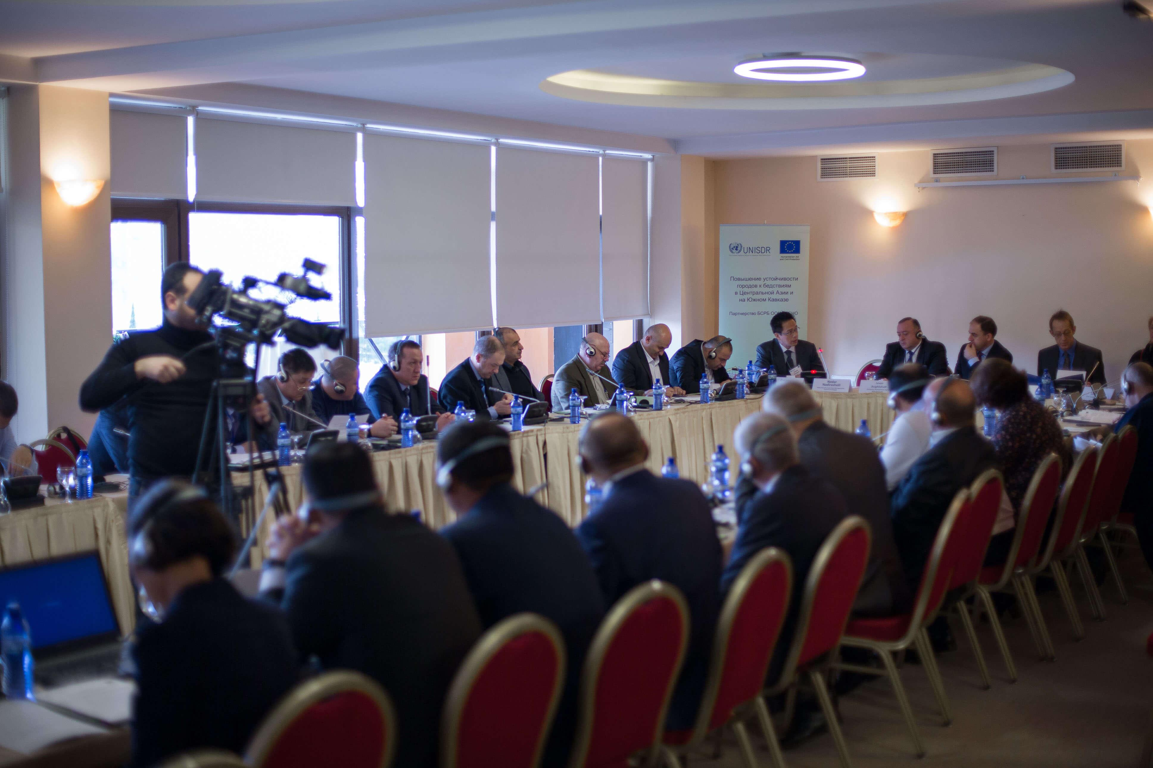 Workshop on the Resilient Cities Project in Central Asia and South Caucasus, Tbilisi, Georgia, 11 November 2015 Roundtable